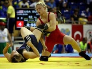 Olympics Going to the mat5